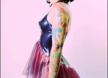 Betty Havok-Babydoll Dress
