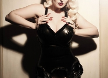 October Divine-Pin Up Corset