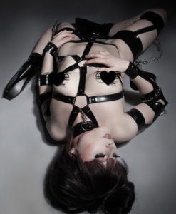 Latex O Ring Body Harness