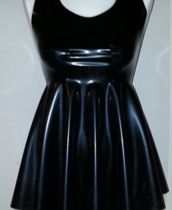 Latex Babydoll Dress