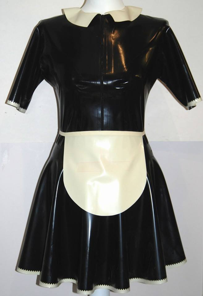 Latex Maid Apron Dress – Fetasia Latex