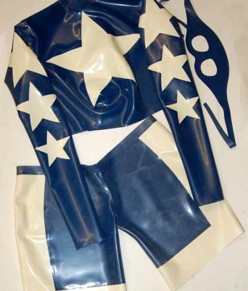 Latex Stargirl Cosplay Outfit