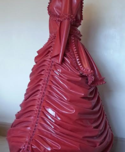 Latex Victorian Ball Gown