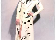 Leone P-Musical Notes Coat