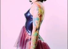 Betty Havok-Babydoll Dress