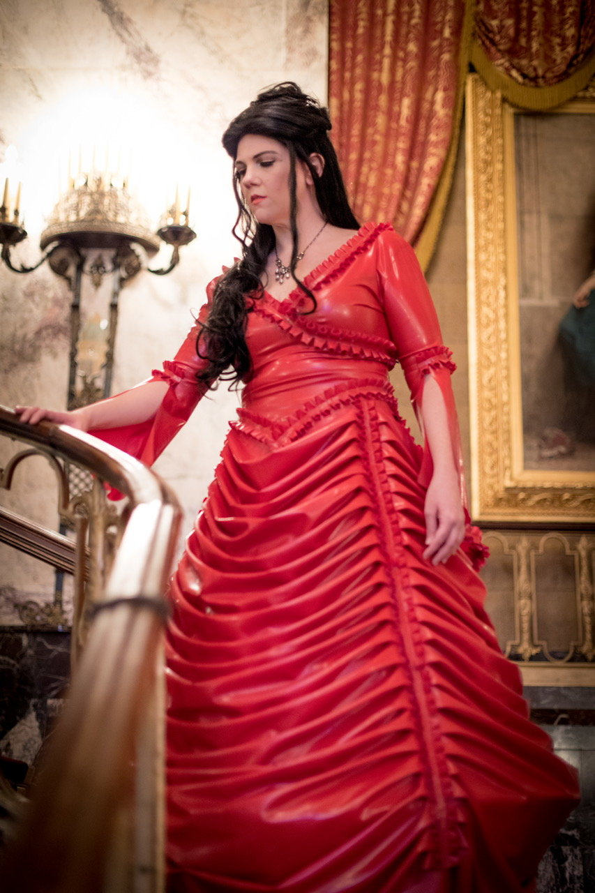Red Steampunk Dresses